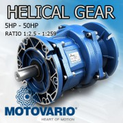 Helical gear reducers  Motovario H-Series