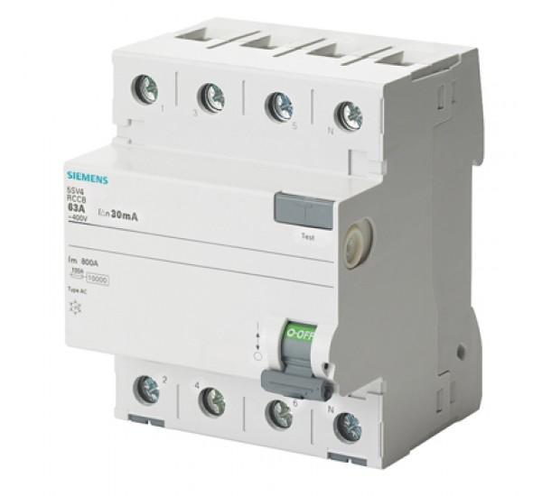 เบรกเกอร์กันไฟดูด ไฟเกิน ยี่ห้อ Siemens